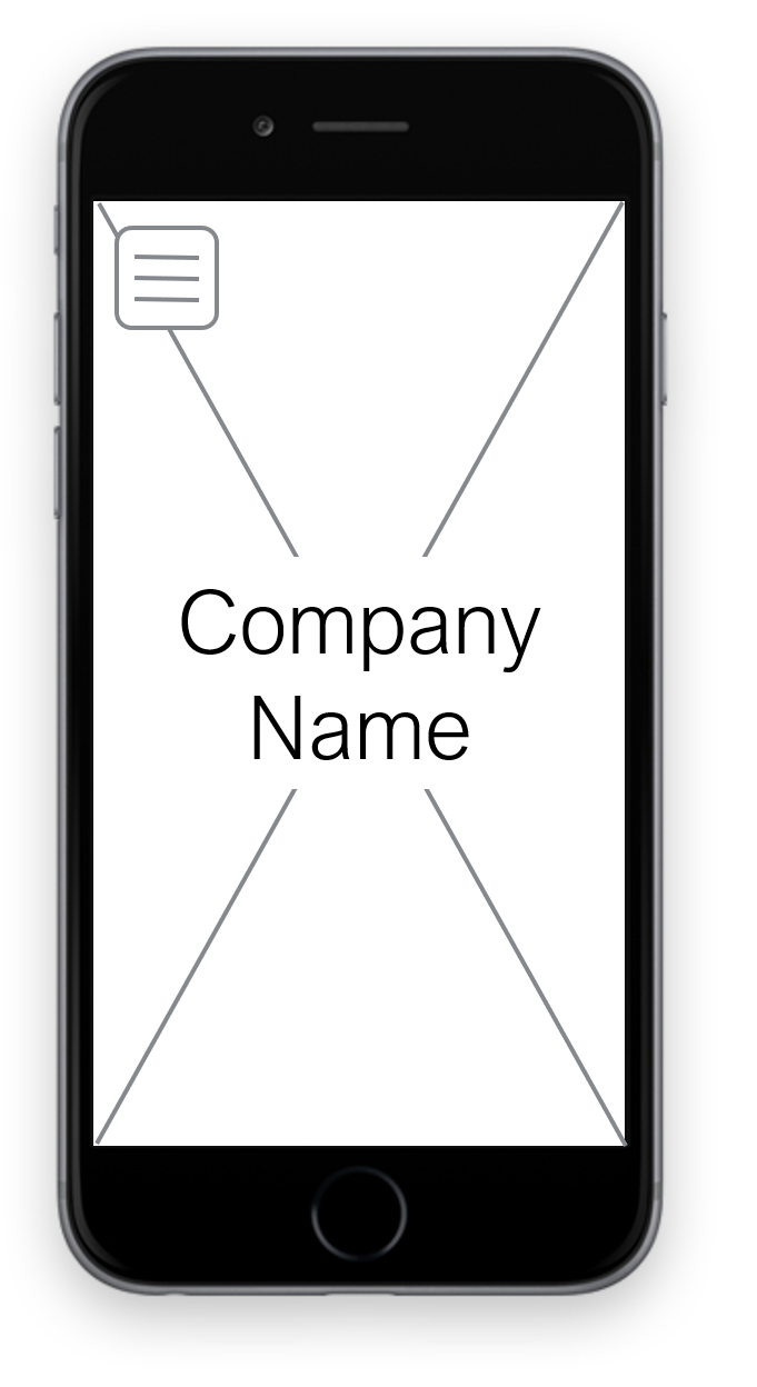 The Mobile Example Wireframe