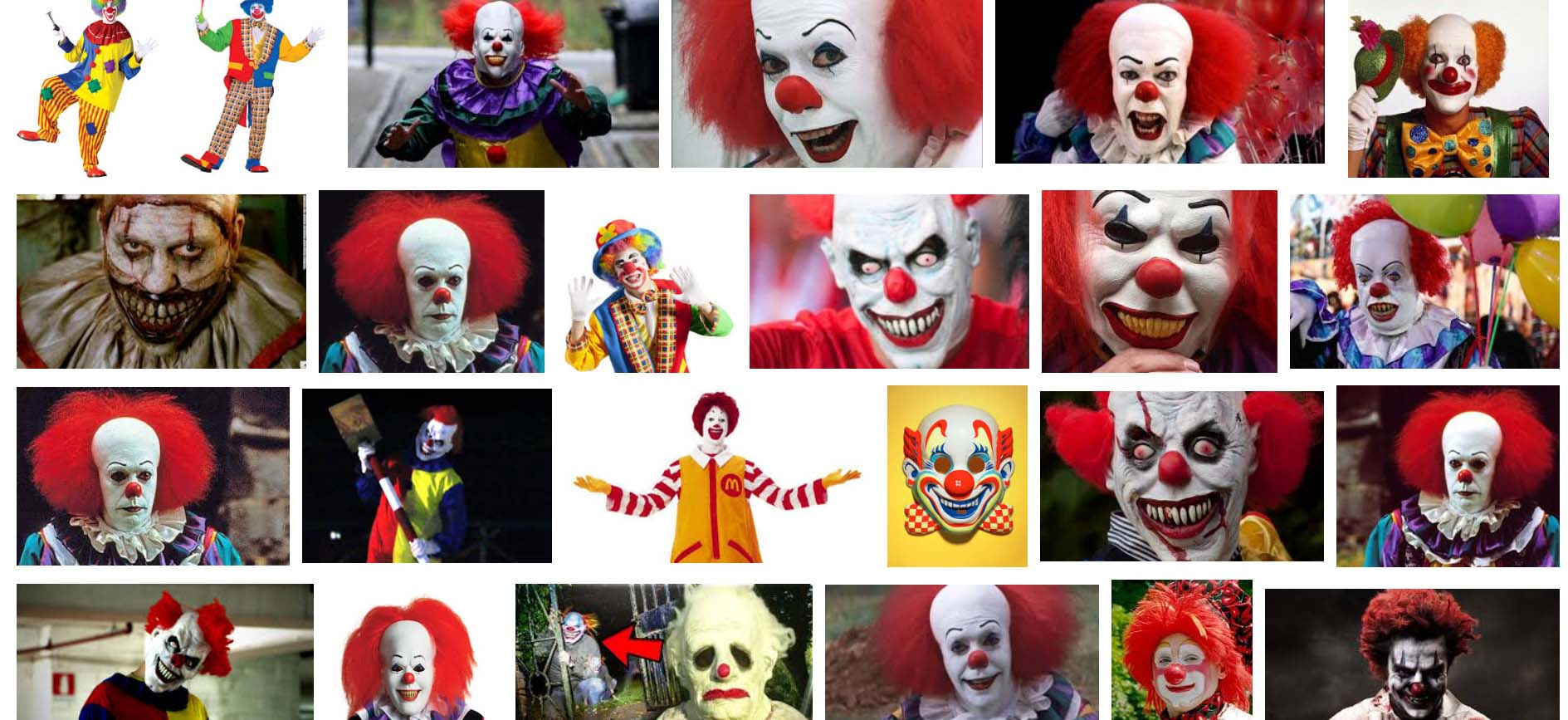 Clown Character Inspiration