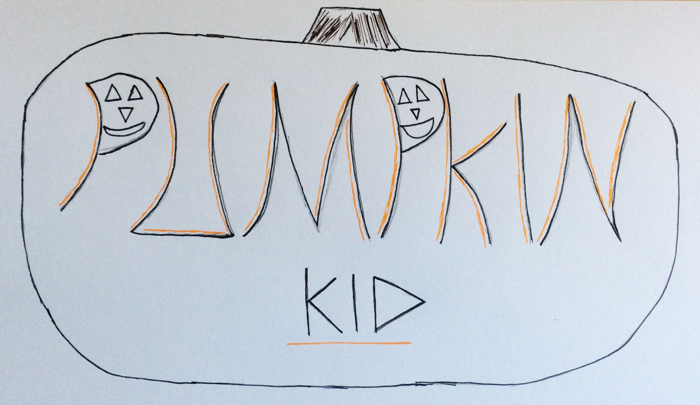 The Title Idea for 'Pumpkin Kid'