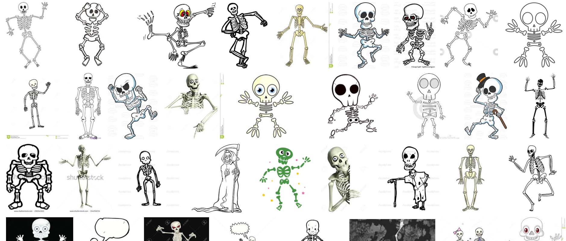 Skeleton Character Inspiration