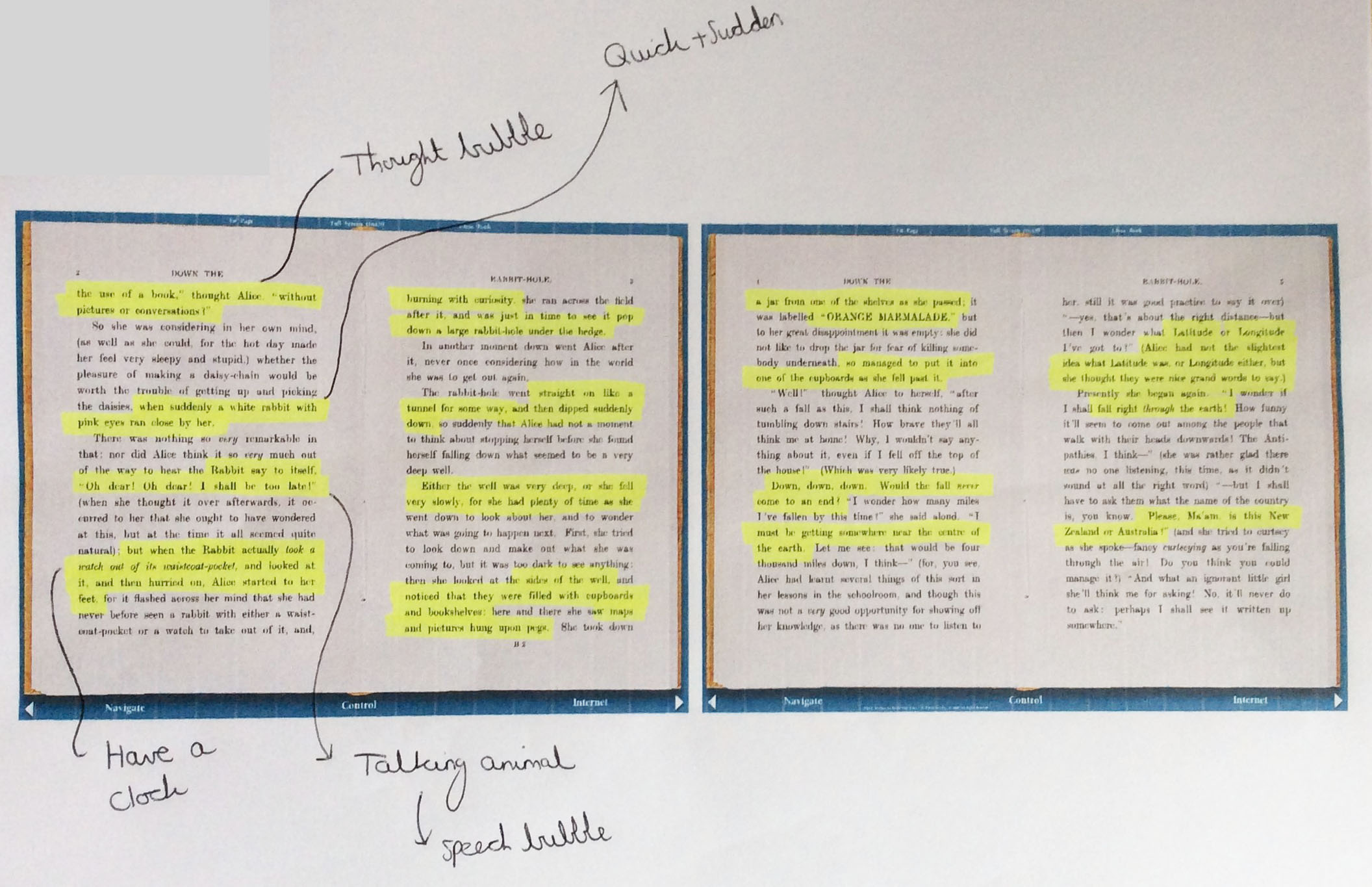 The Seventh and Eighth Pages of the Book Analysed