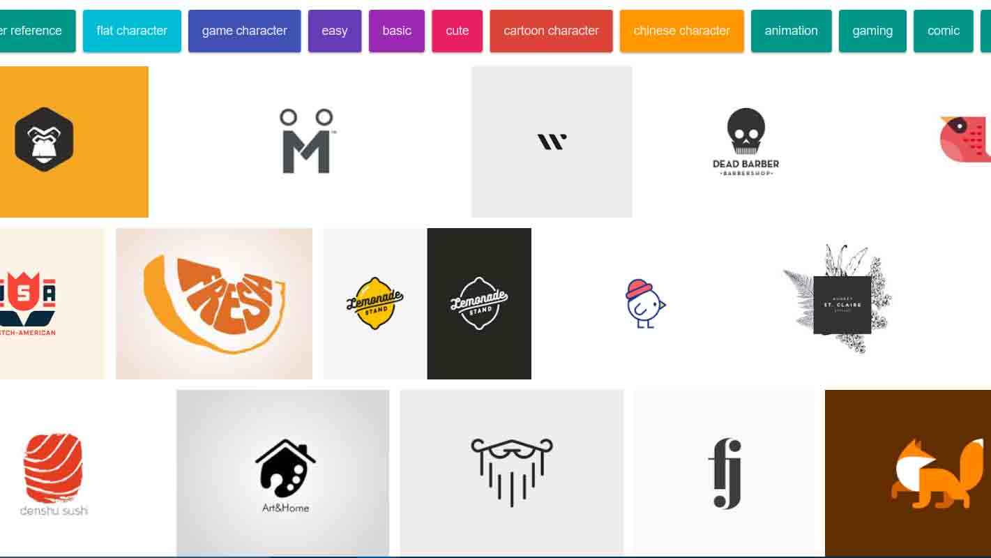 Simplistic Logo Characters Research